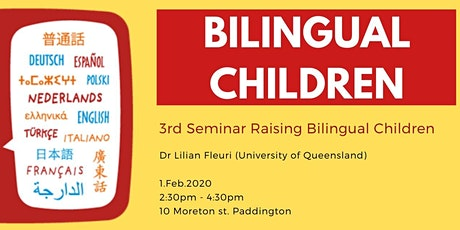 3rd Raising Bilingual Children tickets