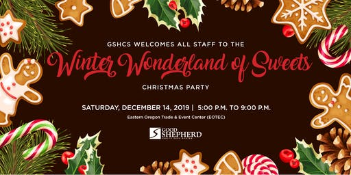 Winter Wonderland of Sweets Christmas Party