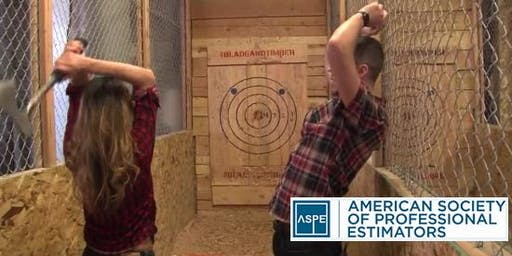 Holiday Axe Throwing with ASPE Chapter 32