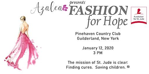 Azalea presents Fashion for Hope