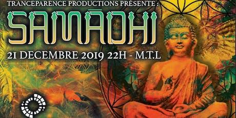 Samādhi avec Über Frequencies (Metabolizm Records) & Nailik billets
