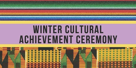 OMSA's December 2019 Cultural Achievement Ceremony tickets