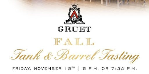 Fall Tank & Barrel Tasting