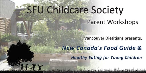 SFUCCS Parent Workshop: new Canada's Food Guide & healthy eating