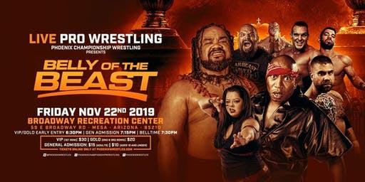 Phoenix Championship Wrestling Presents Belly of the Beast