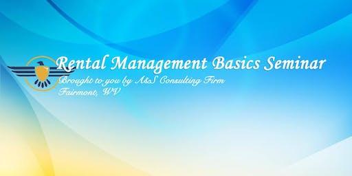 Rental Management Basics Seminar