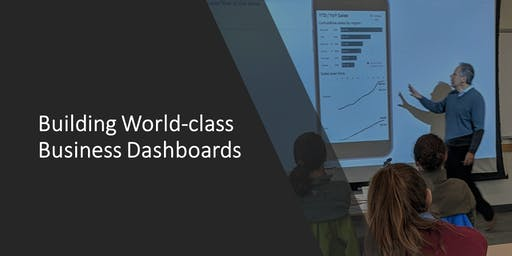 Building World-Class Business Dashboards Workshop -- Tucson