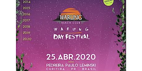 Warung Day Festival 2020 ingressos