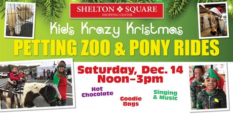 Kids Krazy Kristmas Petting Zoo & Pony Rides tickets