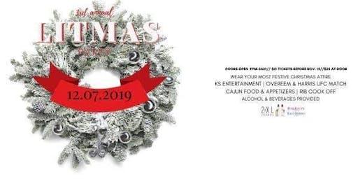 3rd Annual Litmas Onsie Party