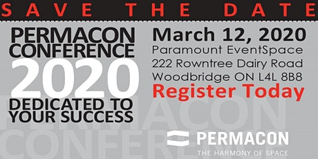 PERMACON CONFERENCE 2020 - Dedicated To Your Success! tickets
