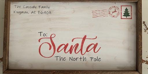 Santa letter personalized