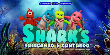 50% DE DESCONTO! Shark's, Brincando e Cantando no Teatro BTC ingressos