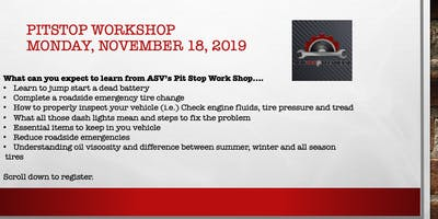 PitStop Workshop January 2020
