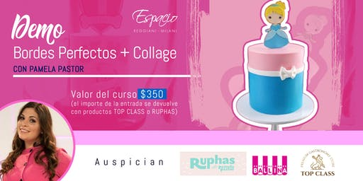 Demo Bordes Perfectos y Collage con PAMELA PASTOR