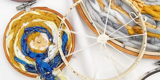 Weaving with Fat Cat Fibers