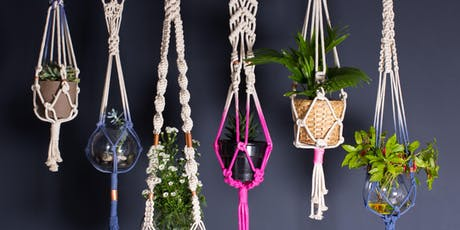 Eco Holiday Gifts - Make Your Own Macrame Hanging Planters! tickets