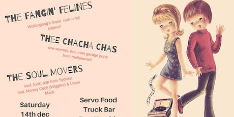The Soul Movers + Thee Cha Cha Chas + The Fangin' Felines tickets