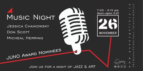 Music Night at Queen Gallery tickets