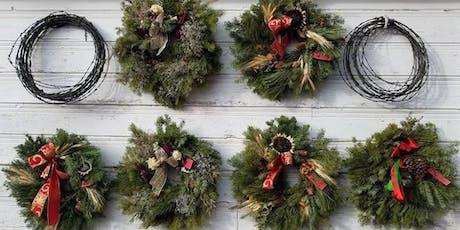 Lillie's Garden Christmas evergreen wreaths  tickets