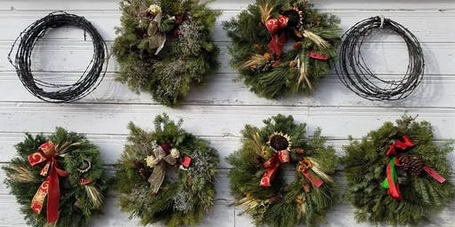 Lillie's Garden Christmas evergreen wreaths