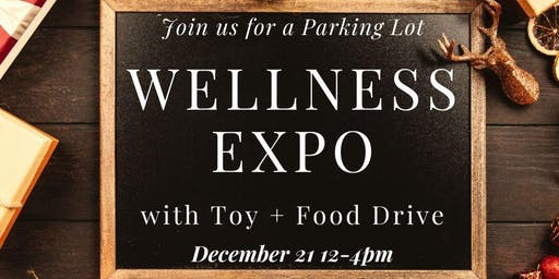 Wellness Expo with Toy + Food Drive