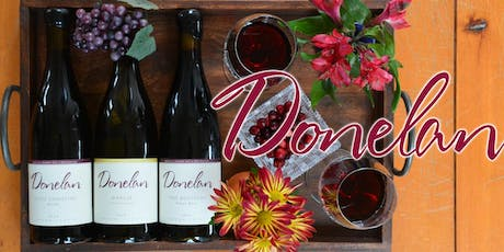 DONELAN WINES TASTING with CUSH DONELAN tickets