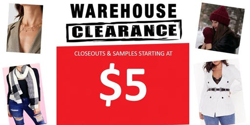 $5 WAREHOUSE SALES - Nordstrom/Urban Outfitter/ Forever 21