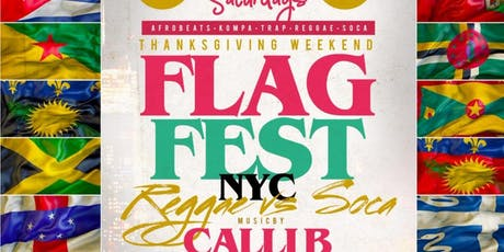 Flag Fest | CARIBBEAN Saturdays @ SOB's | Bring ya best whine! | Free Entry & drinks | Hookah | tickets