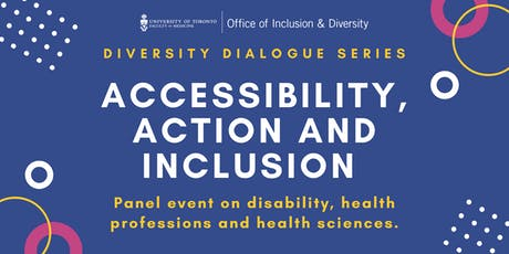 Accessibility, Action and Inclusion Panel Event tickets