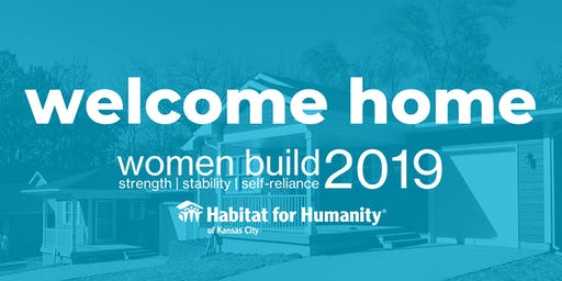 Women Build Home Dedications