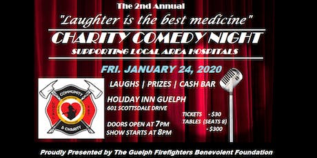 The 2nd Annual - Guelph Fire Charity Comedy Night tickets