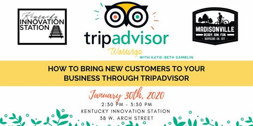 Tripadvisor Workshop : Get new business through Tripadvisor