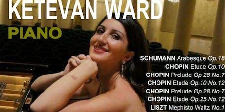 Concert by pianists Ketevan Ward, Michael Ward & violinist Mari Obolashvili tickets