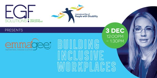Building Inclusive Workplaces - FREE LUNCH EVENT