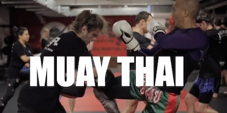 Muay Thai Kickboxing is a fitness tool that burns 700 calories and up! tickets