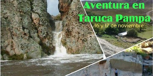 Aventura en Taruca Pampa.