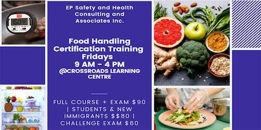 Food Handling Certification Training