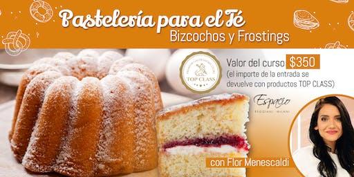 Demo Pastelería para el Té: Bizcochos y Frosting con FLORENCIA MENESCALDI