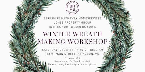 Winter Wreath Making Workshop