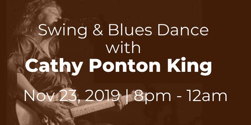 Swing & Blues Dance with Cathy Ponton King
