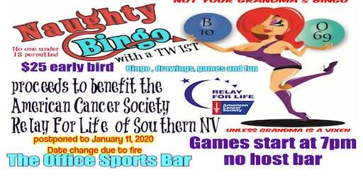 Naughty Bingo with a Twist Jan 11 2020 the Office Bar