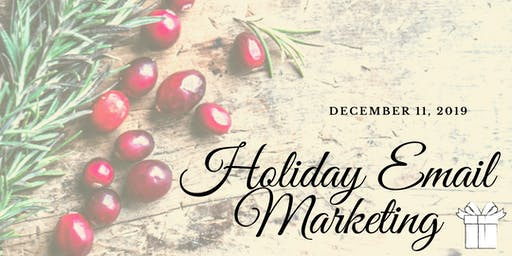 Last Minute Holiday Email Marketing Ideas