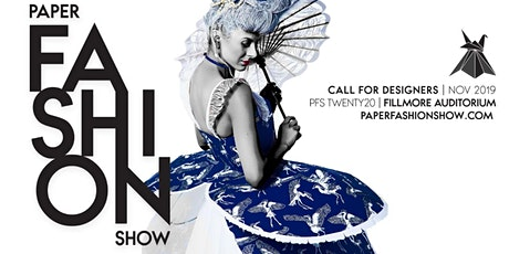 The Paper Fashion Show: Design Team Registration tickets