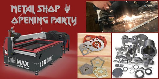 Metal Shop Opening Party Featuring the Water Jet