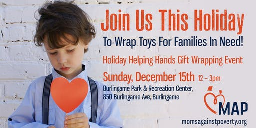MAP's Annual Holiday Helping Hands Gift Wrapping Event