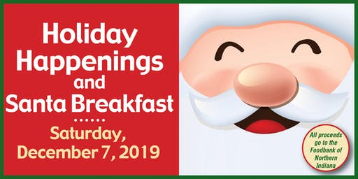 Eddy Street Commons Santa Breakfast 2019