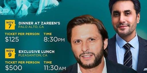 Meet with Shahid Afridi and Adnan Siddiqi