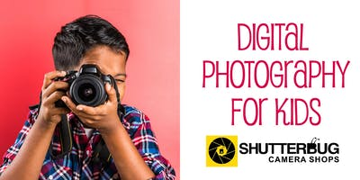 Digital Photography for Kids 2-day Workshop