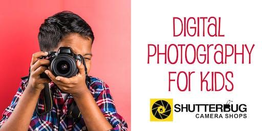 Digital Photography for Kids 2-day Workshop